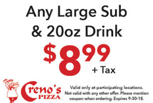 Any Large Sub and Drink