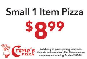 Small 1 Item Pizza